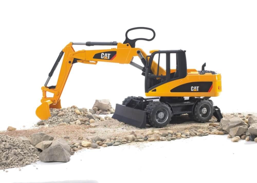 Spielzeugautos & Zubehör Spielzeug-Baufahrzeuge Bruder 02445 Profi-Serie CAT Mobilbagger günstig kaufen