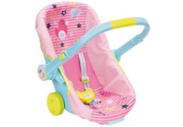 Zapf BABY born® Schalensitz mit Rädern, ab 3 Jahren