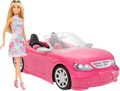Mattel FPR57 Barbie Glam Cabrio mit Puppe