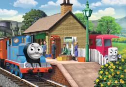 Ravensburger 75836  Puzzle Thomas die Lokomotive 2 x 12 Teile