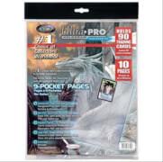 Ultra Pro 10 Stück Platinum Pages 9-Pocket Bag