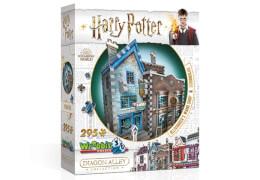 3D-Puzzle Harry Potter Ollivanders Zauberstabladen und Scribbulus Schreibwarenladen 295 Teile