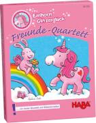 HABA - Einhorn Glitzerglück - Freunde-Quartett, für 2-6 Spieler, ca. 10 min, ab 4 Jahren