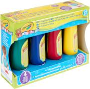 Goliath 256455 Crayola Mini Kids Auswaschb. Fingerfarben, 4 Tuben