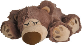 Warmies® Wärmetier Sleepy Bear, braun