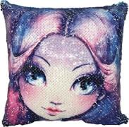 Nebulous Stars Magisches Pailetten-Kissen