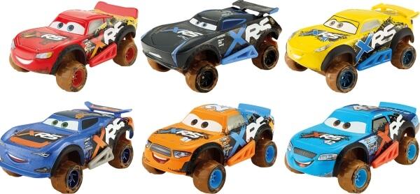 Mattel GBJ35 Cars XRS Schlammrennen Die-Cast Sortiment Sonstige
